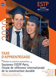 Taxe d'Apprentissage 2020 - ESTP Paris
